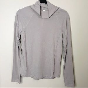 Lululemon Locarno Grey Turtleneck Wool Sweater
